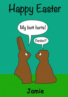 Easter Card Humour
